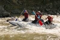 Рафтинг на реке Черный Черемош в Карпатах - Открытие сезона 2012 года!